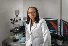 Laura Ngwenya at the UC College of Medicine